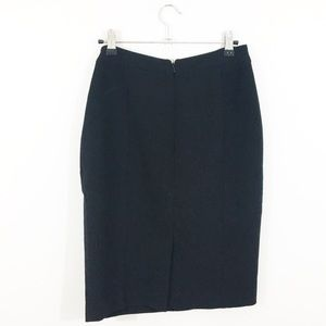 Halogen Skirts - Halogen Seamed Pencil Skirt Black XS Small Size 2